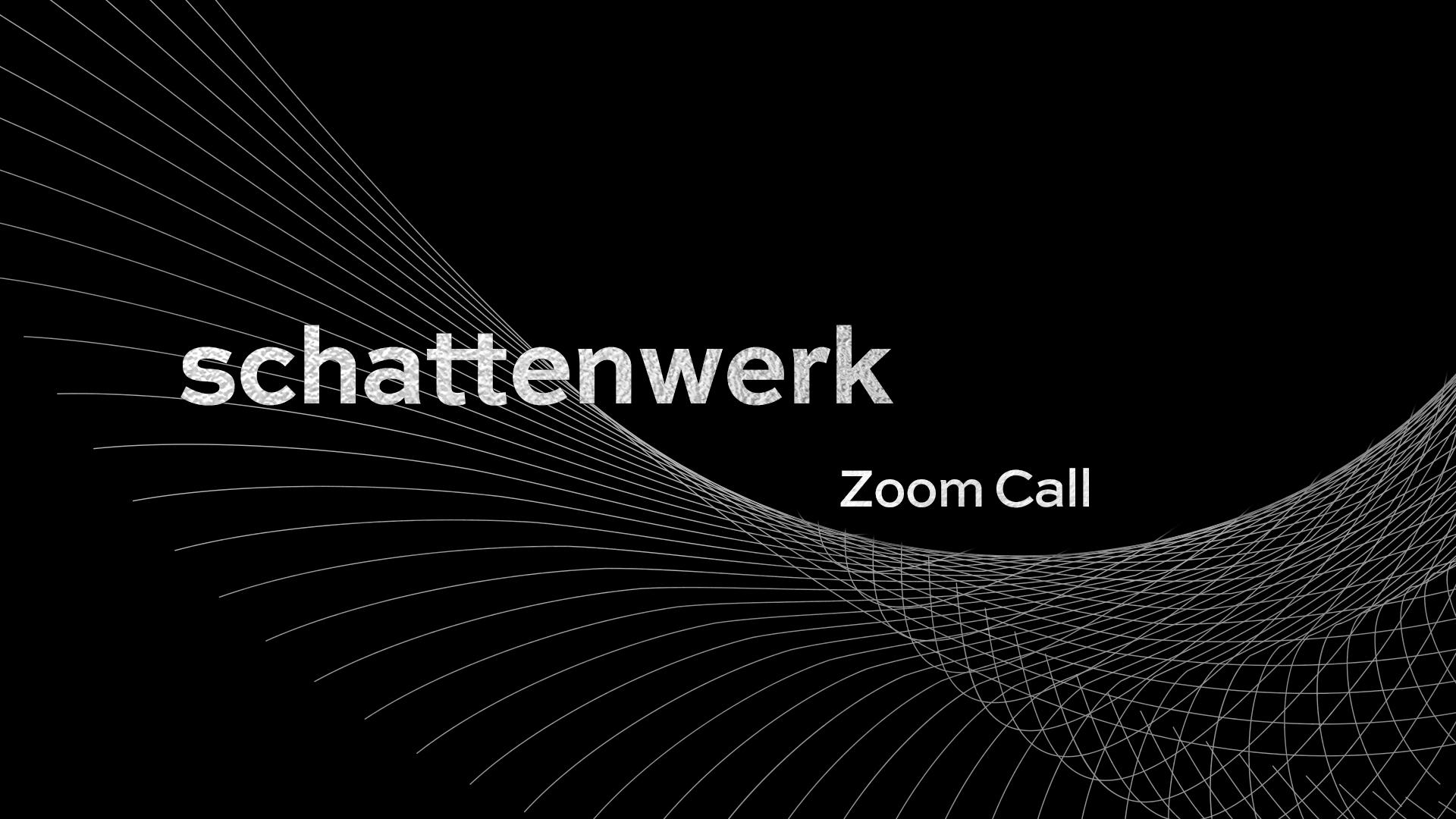 schattenwerk-Zoom-Call