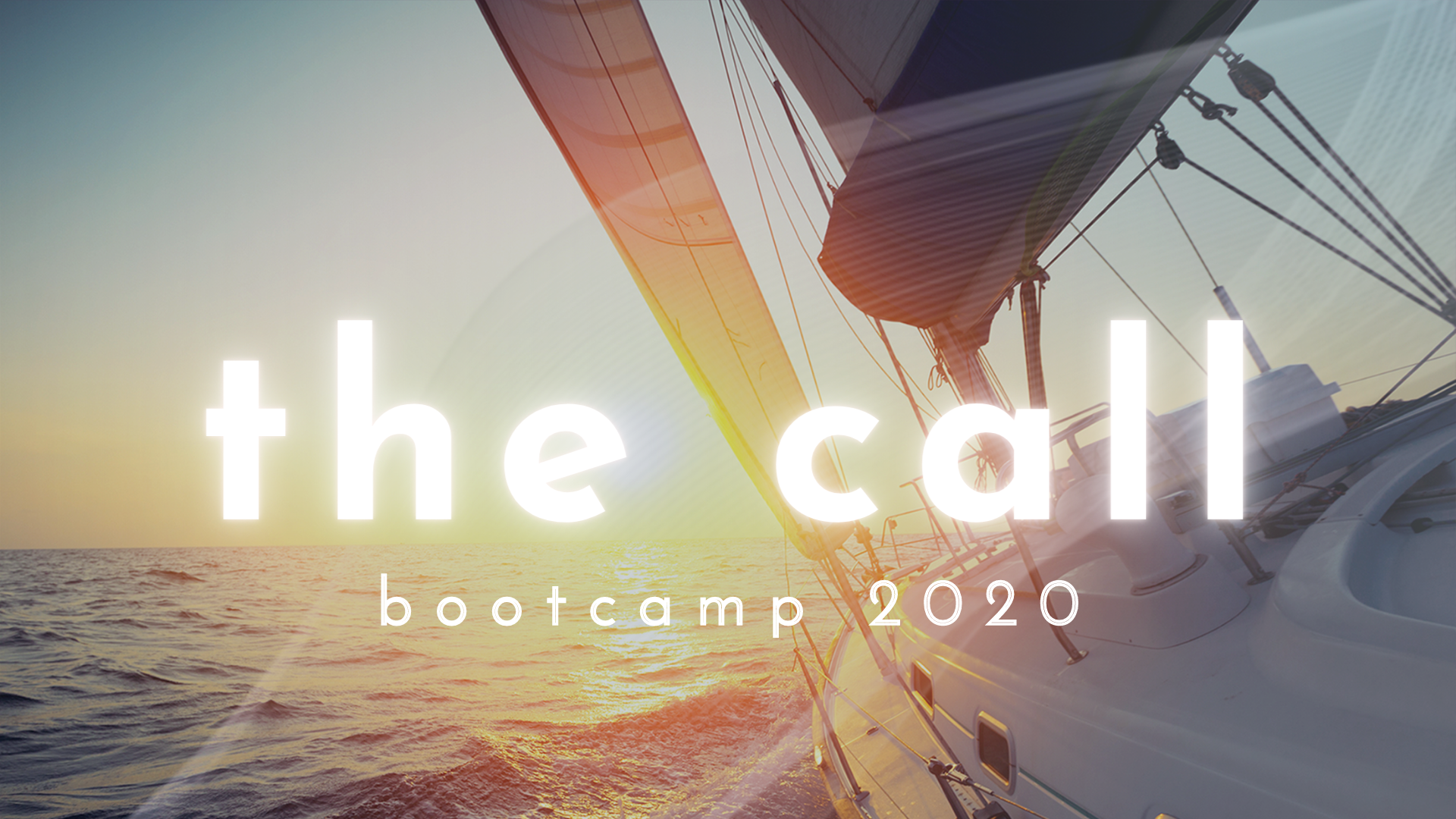 The Call Bootcamp 2020 16x9